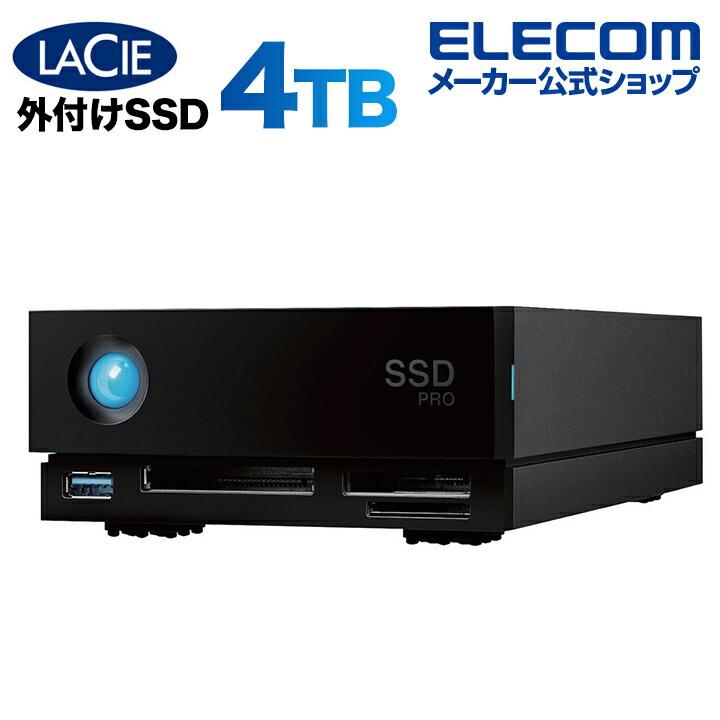 LaCie 1big dock SSD Pro 4TB