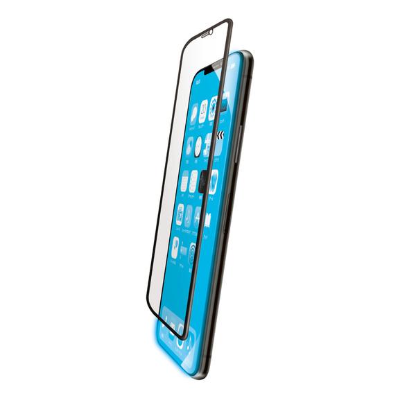 iPhone 11用フルカバーガラスフィルム/3次強化/セラミックコート/BLカット
