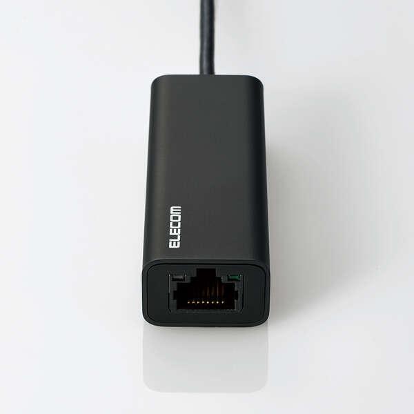 Type-A/Cポート両対応2.5G有線LANアダプター
