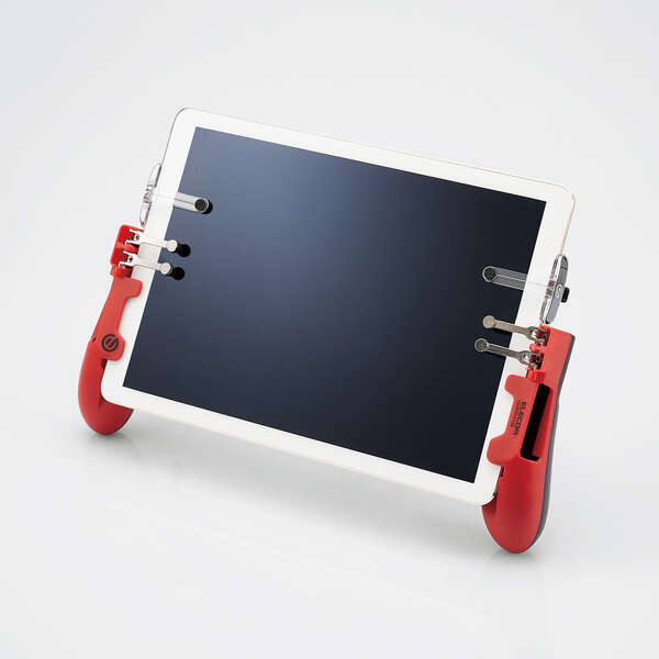 タブレット用ゲーミンググリップ6ボタン