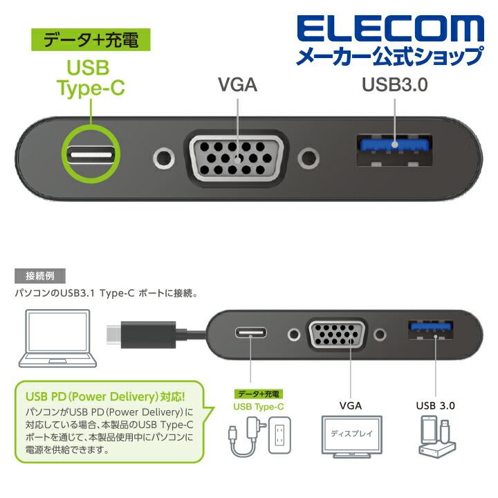 Type-Cドッキングステーション VGAモデル