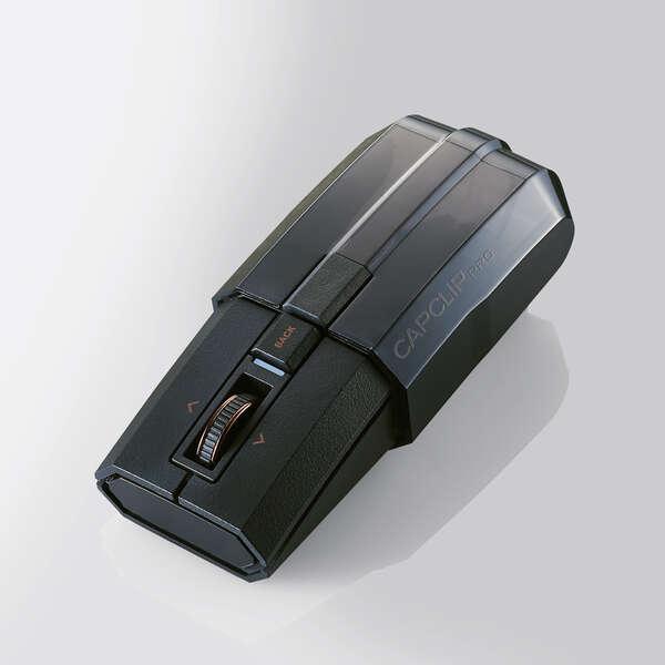 Bluetooth5.0マウスCAPCLIP PRO