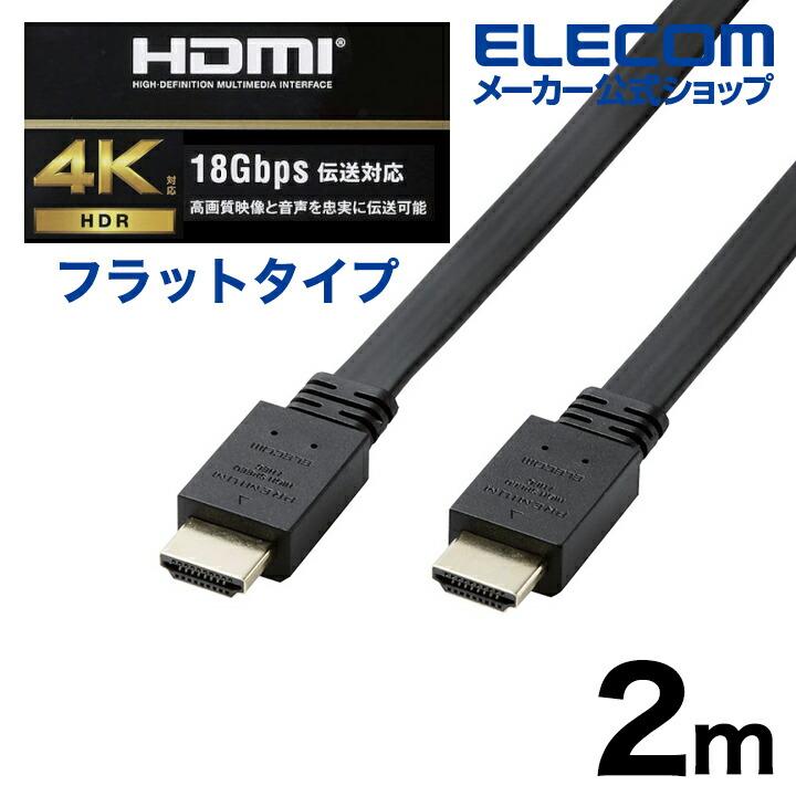 PremiumHDMIケーブル(フラット)