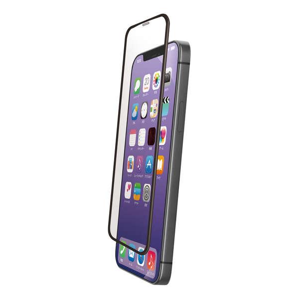 iPhone 12 Pro Max ガラスフィルム フレーム付き