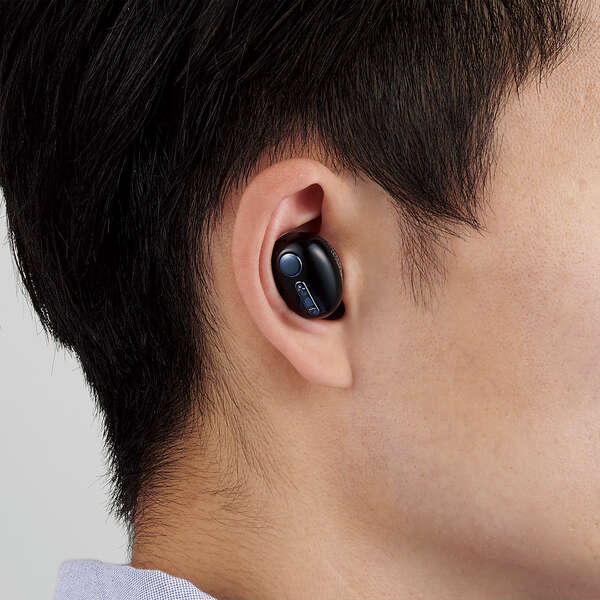 超極小Bluetoothハンズフリーヘッドセット 充電台付き