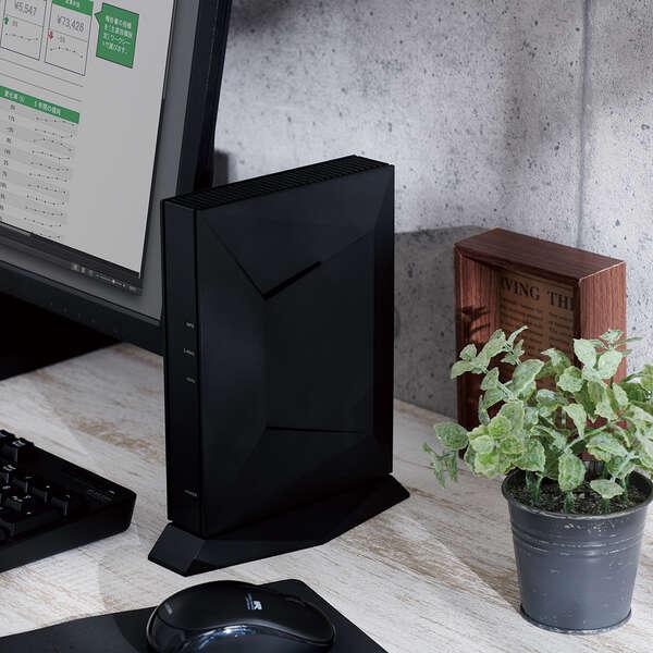 Wi-Fi 6(11ax) 2402+800Mbps Wi-Fi ギガビットルーター