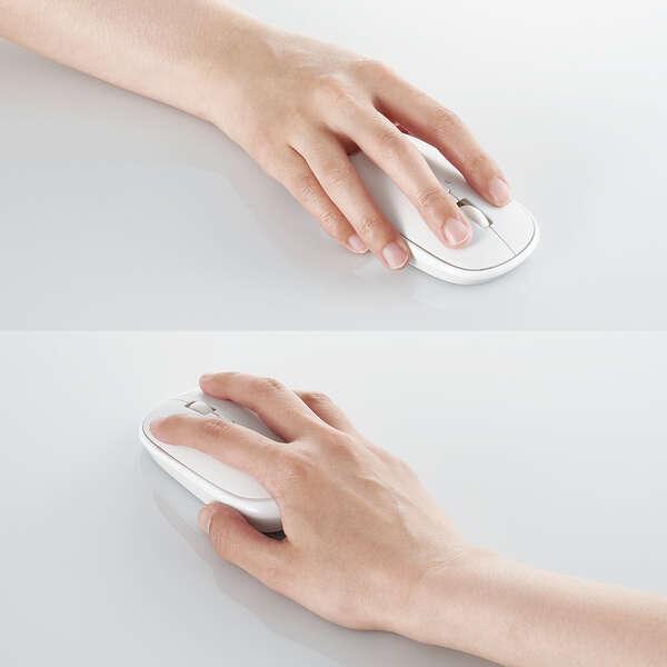 """薄型Bluetoothマウス""""Slint""""4ボタン"""