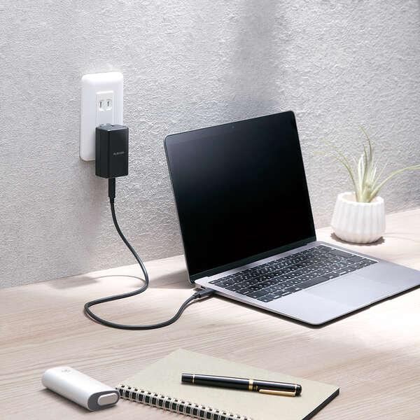 USB PD対応 AC充電器(USB PD45W/C×1)