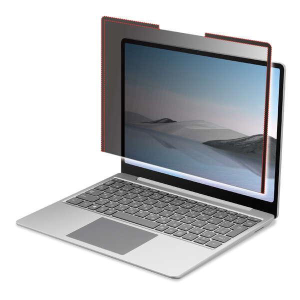 Surface Laptop Go用のぞき見防止フィルター
