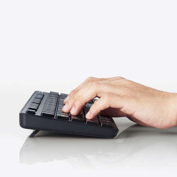 Bluetooth 5.0 薄型フルキーボード