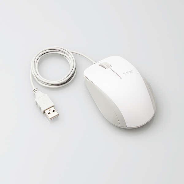 抗菌 有線 BlueLEDマウス (3ボタン)