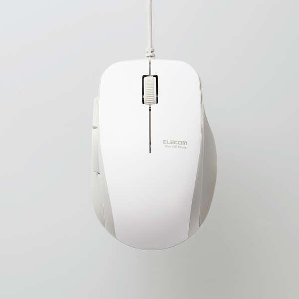 抗菌 有線 BlueLEDマウス (5ボタン)