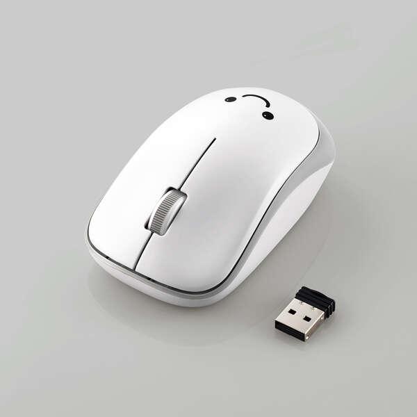 抗菌省電力 ワイヤレスIRマウス (3ボタン)