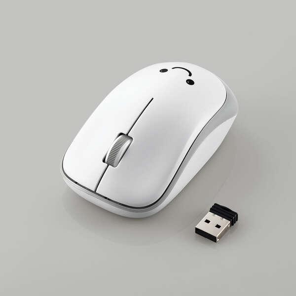 抗菌省電力 ワイヤレス静音IRマウス (3ボタン)