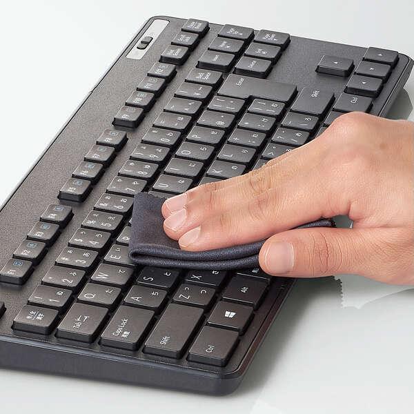 抗菌 無線薄型コンパクトキーボード&マウス