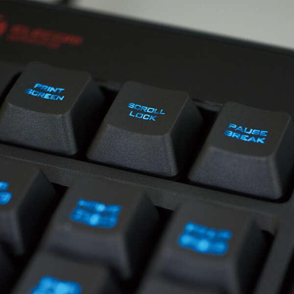 メンブレンゲーミングキーボード