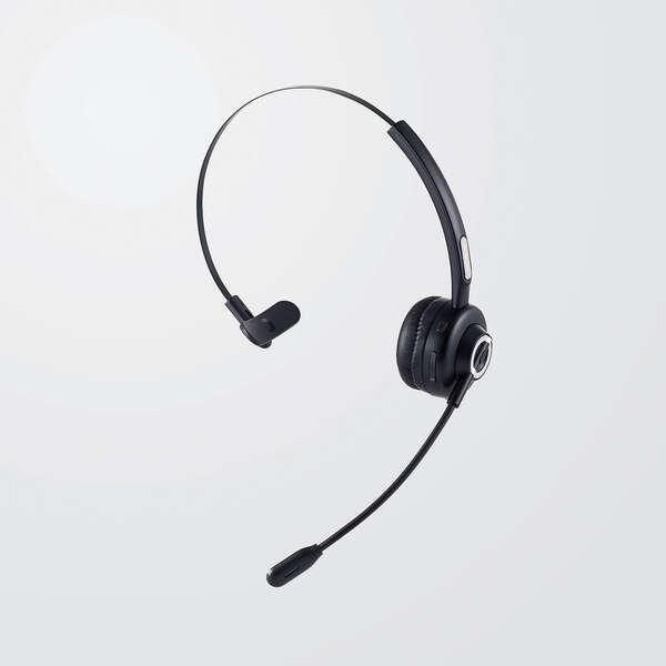 オーバーヘッドタイプ充電台付Bluetoothヘッドセット