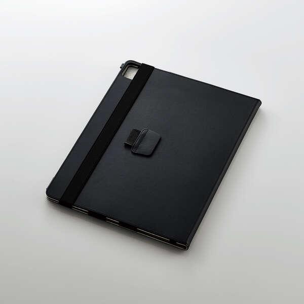 iPad Pro 12.9inch第5世代/手帳型/2アングル/軽量/ブラック