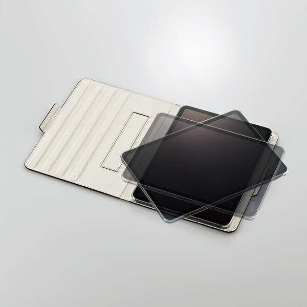 iPad Pro 11inch第3世代/手帳型/360度回転/ネイビー