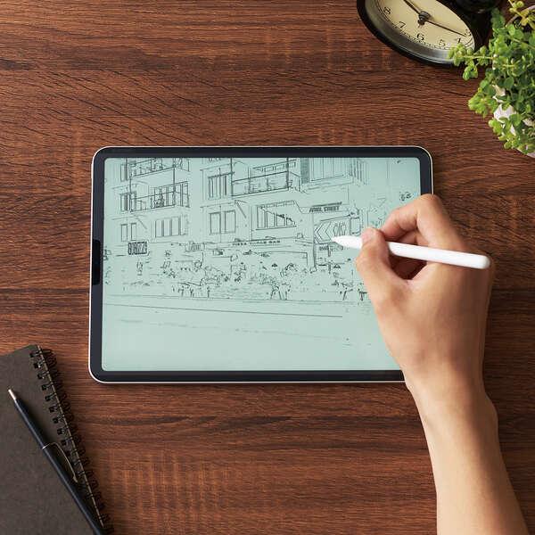 iPad Pro 11inch第3世代/フィルム/ペーパーライク/マット/上質紙/着脱式