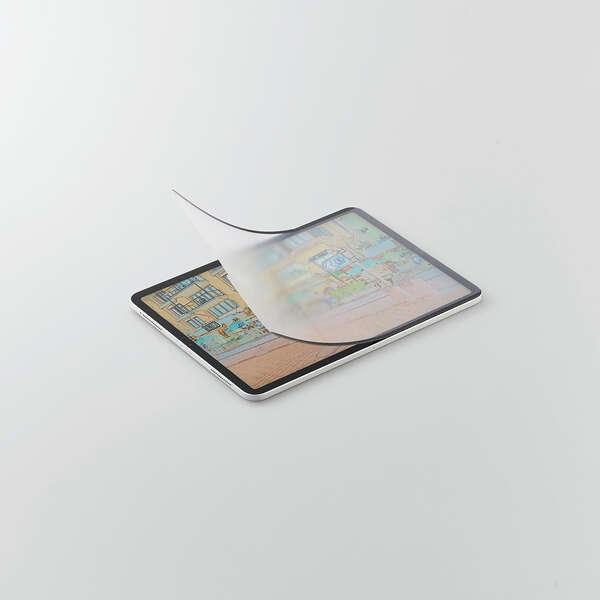iPad Pro 11inch第3世代/フィルム/ペーパーライク/反射防止/ケント紙/着脱式
