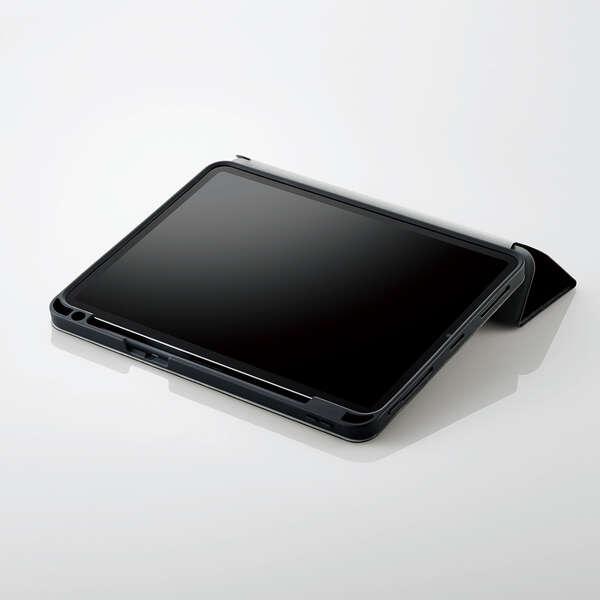 iPad Pro 11inch第3世代/手帳型/Pencil収納/スリープ対応/ブラック