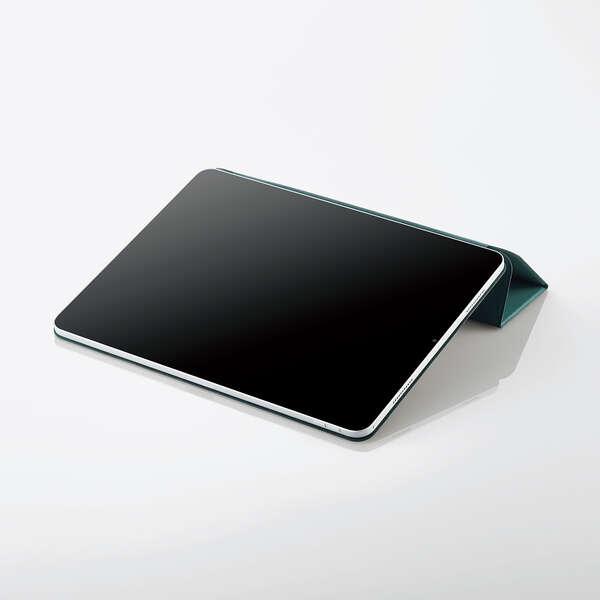 iPad Pro 12.9inch第5世代/超薄型/ソフトレザー/スリープ対応/Pencil収納