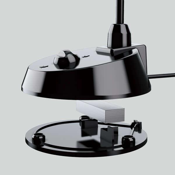 マイク 有線 3極Φ3.5mm スタンド型
