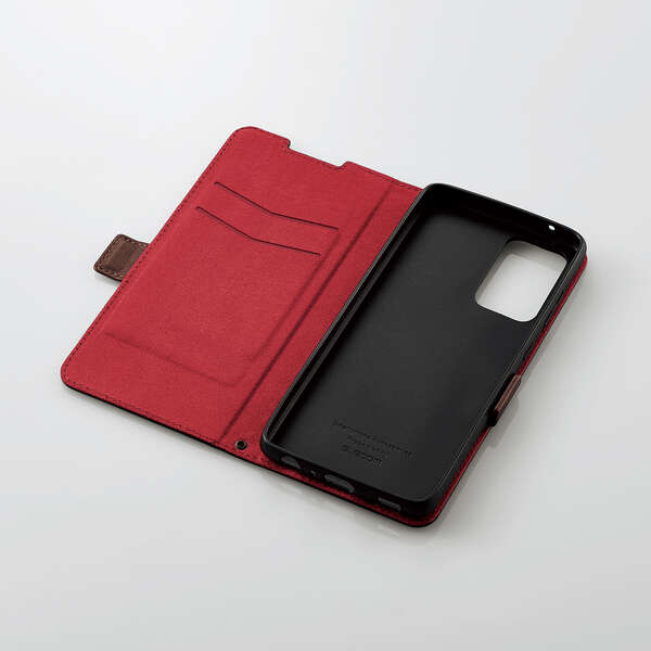Galaxy A52 5G ソフトレザーケース ステッチ 磁石付き 手帳型