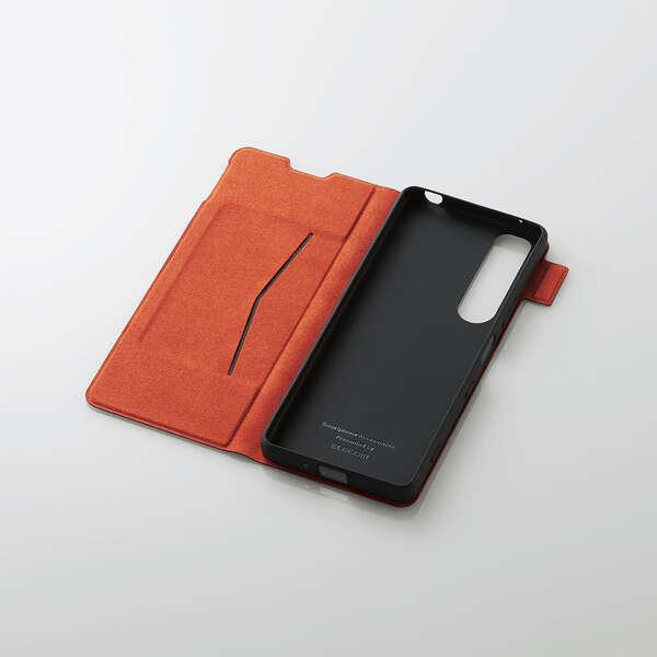 Xperia 1 III ソフトレザーケース UltraSlim 磁石付き 手帳型