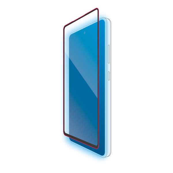 Galaxy A52 5G フルカバーガラスフィルム/BLカット/0.33mm
