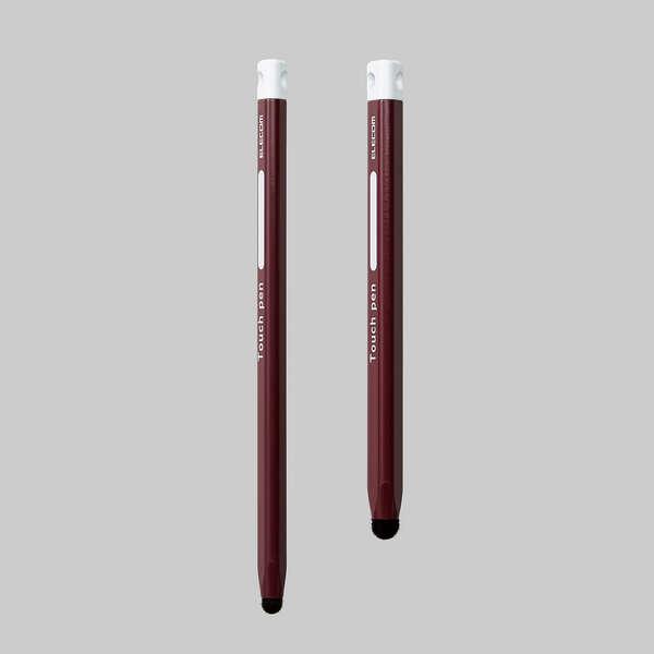 三角型タッチペン(太) 茶色