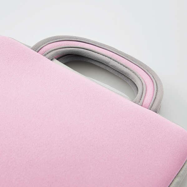 ハンドル付き耐衝撃インナーバッグ ピンク