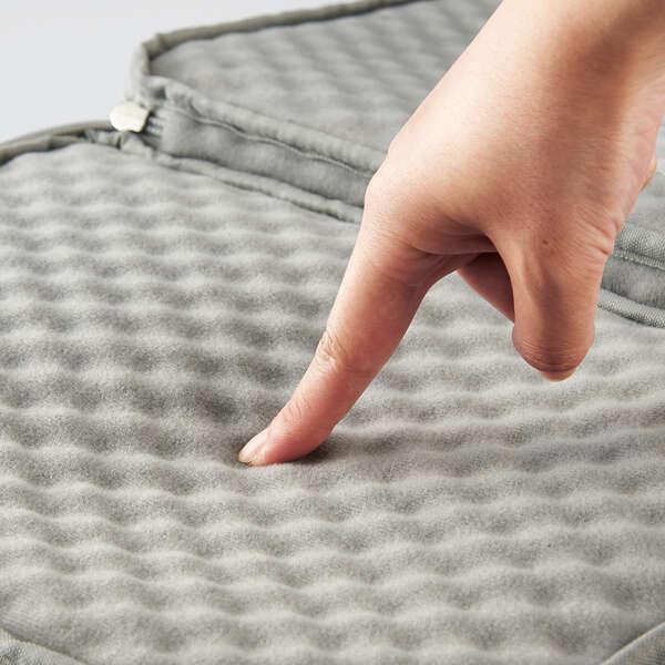 ショルダーベルト付きポケットインナーバッグ レッド