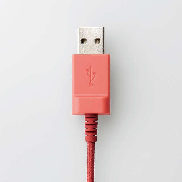 子ども用ヘッドセット USB有線  両耳 マイクアーム付