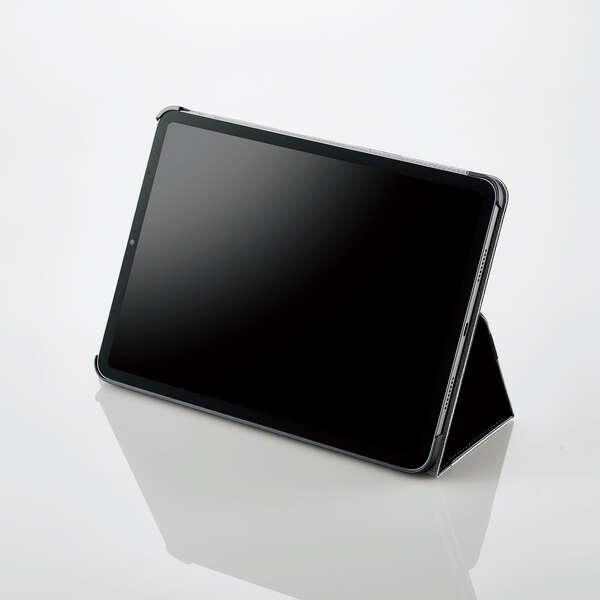 iPad Pro 11inch第3世代/手帳型/2アングル/軽量/ブラック
