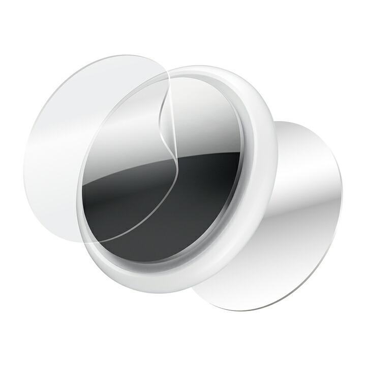 AirTag用フルカバーフィルム/衝撃吸収/高光沢/防指紋