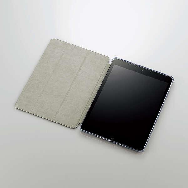 iPad 10.2インチ(2019/2020年モデル) ハイブリッドフラップケース スリープ対応