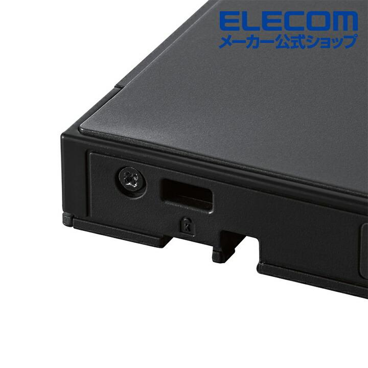 USB3.2 Gen1(USB3.0)ネイティブ ポータブルBD BK