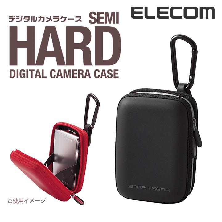 デジタルカメラケース「GRAPH GEAR」:DGB-046BK