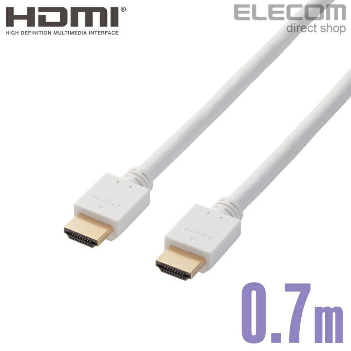 イーサネット対応HIGHSPEED HDMIケーブル:DH-HD14EA07WH