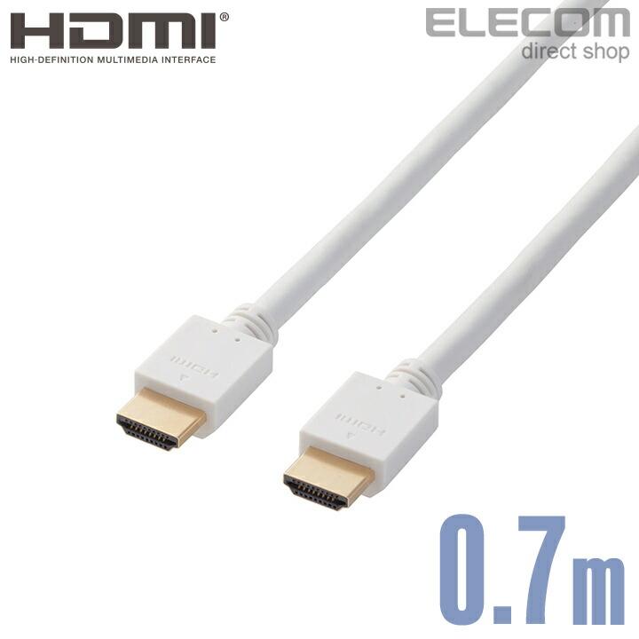 イーサネット対応HIGHSPEED HDMIケーブル:DH-HD14EB07WH